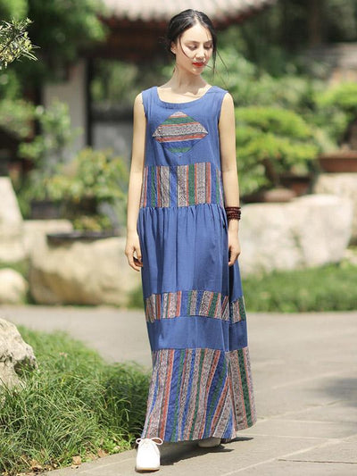 Fashion Ornament Authentic Style Dress, Three Colors