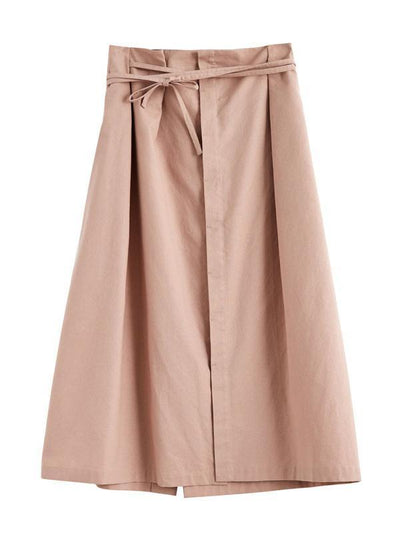Fashion Long Split Original Soft Skirts in Three Colors