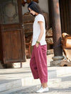 Casual Long Loosen Bloomers Pants in Different Colors