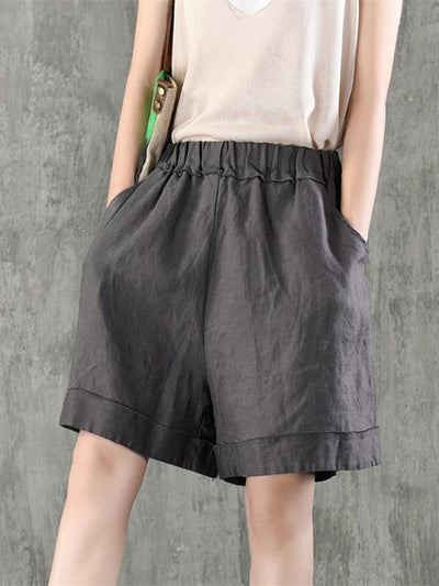 Fashion Casual Cotton Short, Six Colors
