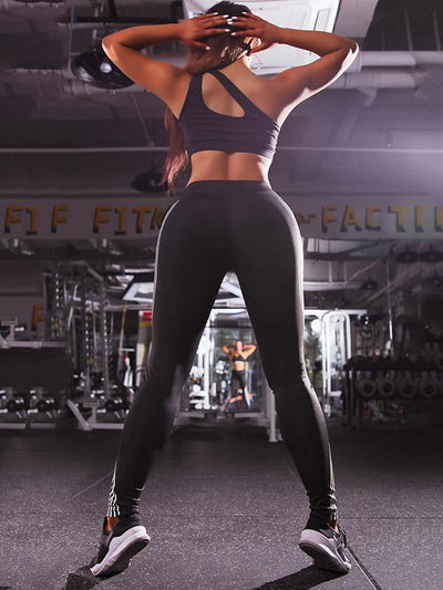 Glowing Side Laser Stripe Yoga&Gym Leggings