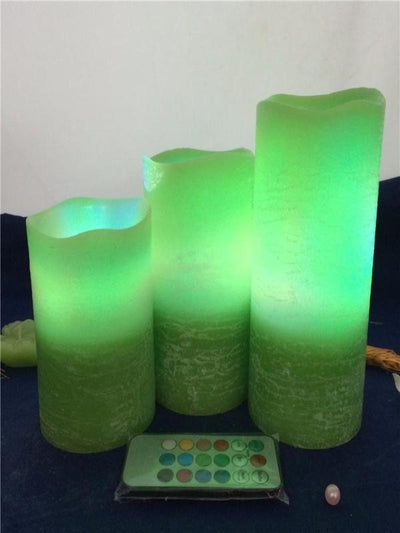 Decorative LED Candles  Different Changeable Colors, Christmas and Home Decor