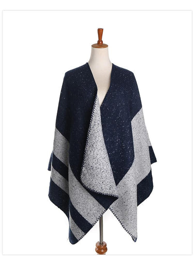 Colorful shawl fashion plaid imitation cashmere scarf