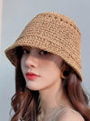Leisure Handmade Sun-Protection Straw Hat