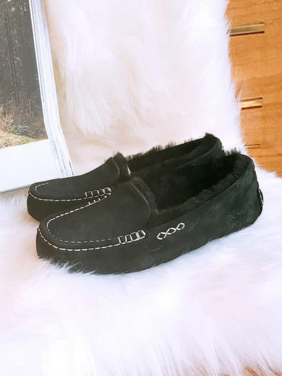 Waterproof Warm Flat Shoes Snow Shoes