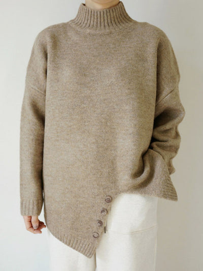 Casual Split-side Sweater