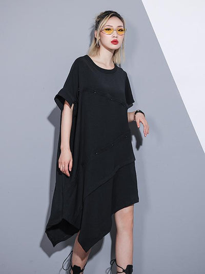 Loose Comfortable Split-joint Dress
