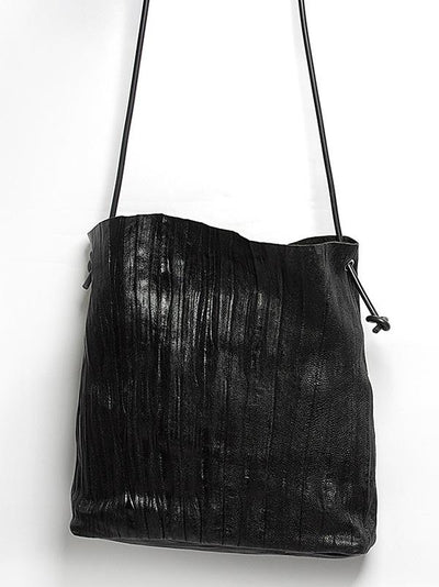 Retro Ruffled Single-shoulder Bag