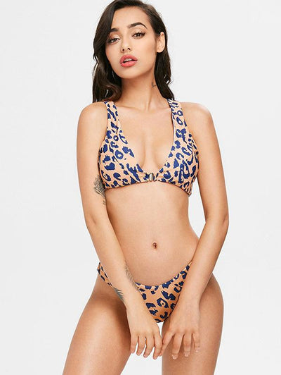 Leopard Sexy Fashion Bikinis Swimwear