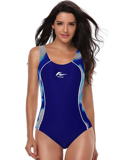 Training Sleeveless One Piece Swimwear