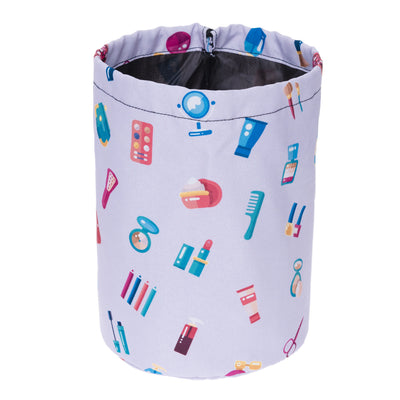Bucket cosmetic bag