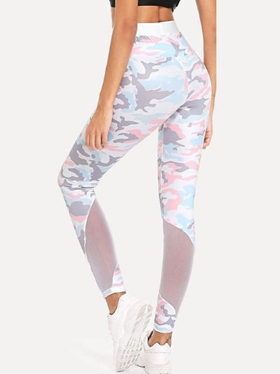 Camo Tight Stretch Leggings