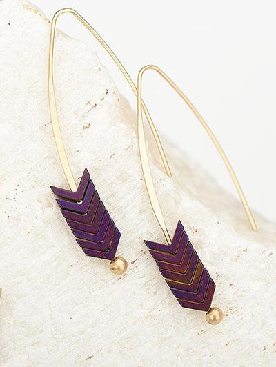 Bohemia Retro Arrow Earrings