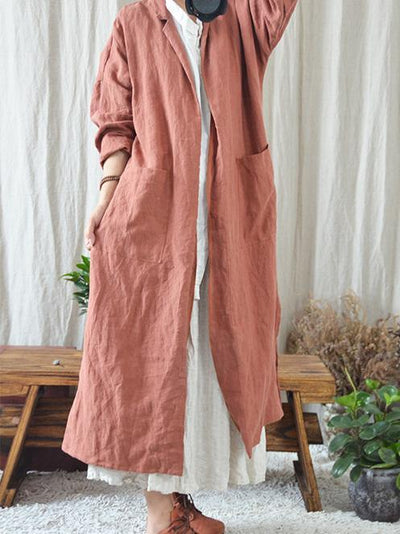 Woman Loosen Casual Cover up, Three Colors