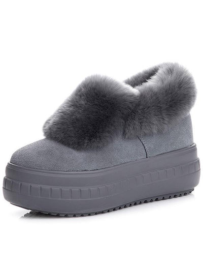 Fur One Thick Snow Boots Uggs