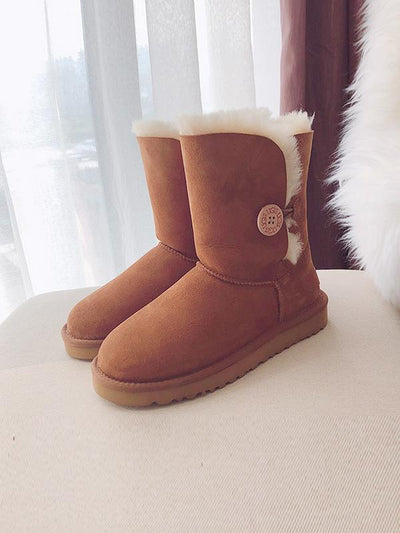 Wool Fashion Casual Woman Snow Boots Uggs