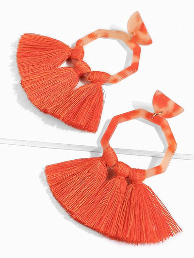 Cotton Tassels Earring Accessories