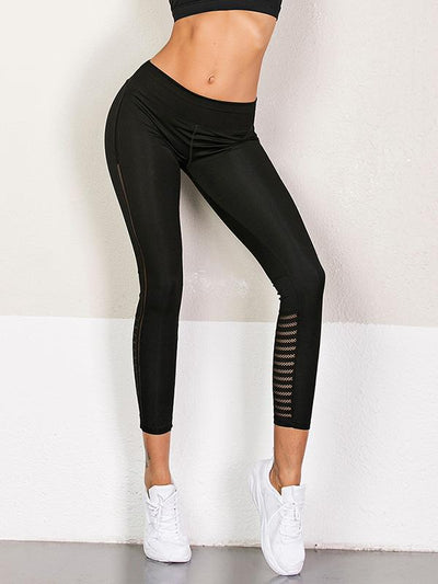 Hollow Split-joint Running Leggings