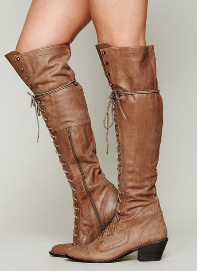 Fashion Detachable Overknee Boots