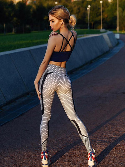 Dot Printed High Waist Leggings