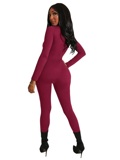 Soft Solid Yoga&Gym Jumpsuits