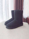 New Sheep Fur One Plus Velvet Tube Cotton Shoes