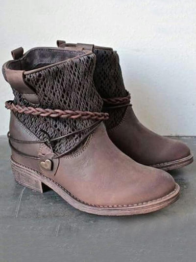 Fashion Ankle Martin Boots Shoes