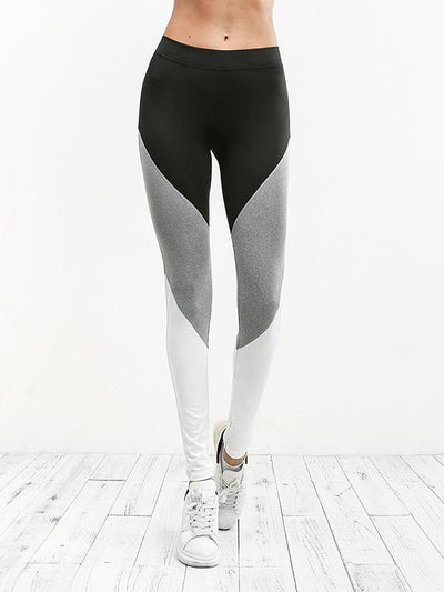 Color Block Sports Leggings