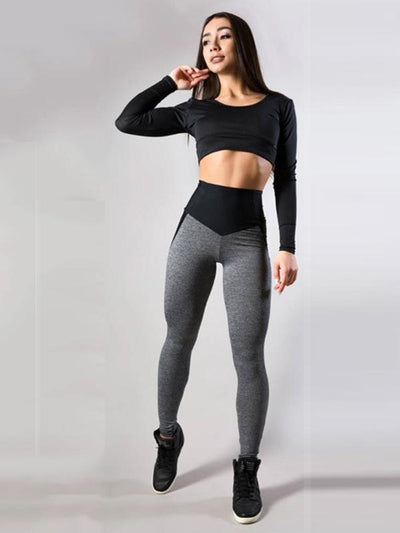 Breathable Skinny Leg Sports Leggings