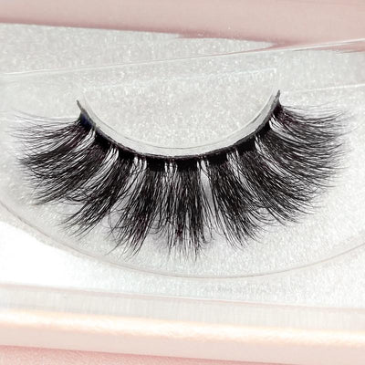 Reusable Natural 3D Mink False Eyelashes