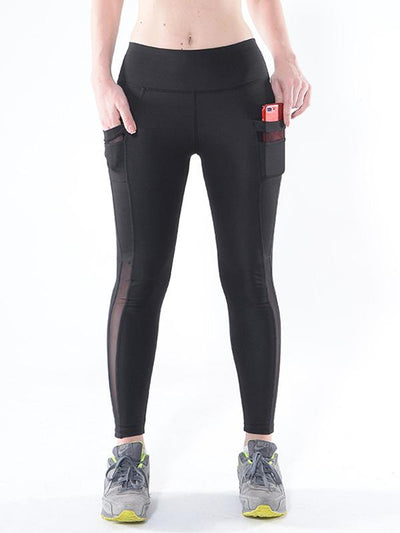 Mesh Pocket Yoga Leggings