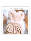 Fashion Wool Fur Ball Tassel Warm Cotton Shoes