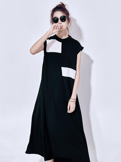 Casual Split-joint Long Dress
