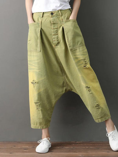 Super Loose Retro Harem Pants
