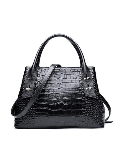New crocodile leather handbags