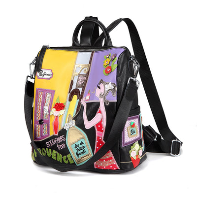 creative backpack wild tide personality backpack