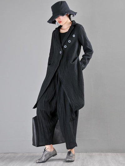 Irregular Ramie Cotton Cover-up