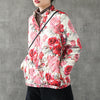 Delicate Flowers Lightweight Down Coat