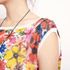 Floral Casual Print Women Sleeveless Top