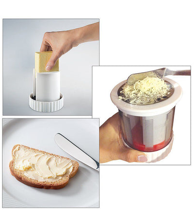 Stainless Cheese Grater Chocolate Butter Cutter Kitchen Gadgets