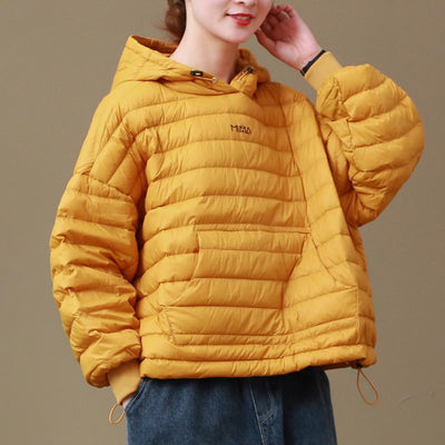 Light and Thin Winter Hooded Down Coat