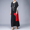 Patchwork Design Casual Elegant Maxi Dress