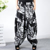 Plus Size Retro Printed Comfortable Bloomers