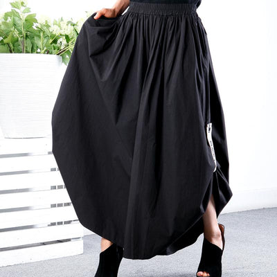 Plus Size Solid Color Comfortable Wide Leg Pants