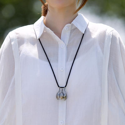 Solid Casual Polo Collar Irregular Blouse