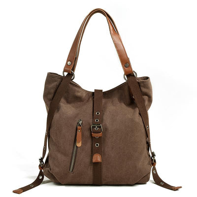 Versatile Canvas Casual Shoulder Bag