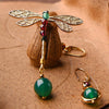 Vintage Irregular Ethnic Dragonfly Women Earrings