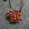 Vintage Pattern Tree Alloy Long Necklace