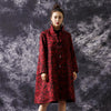 Winter Retro Leopard Loose Woolen Coat