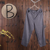 Women Spring Casual Solid Harem Pants Ankle Length Pants